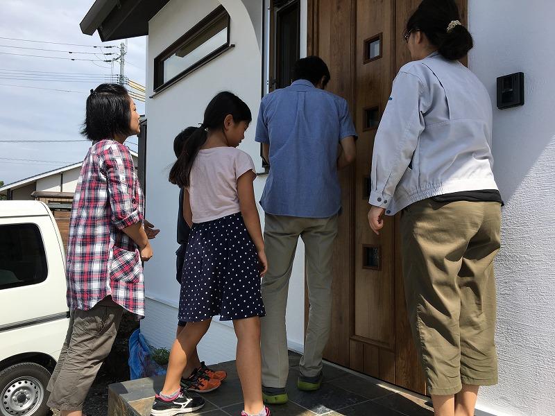 熊本市東区戸島西のお引渡し3|熊本の注文住宅工務店ファミリアホーム