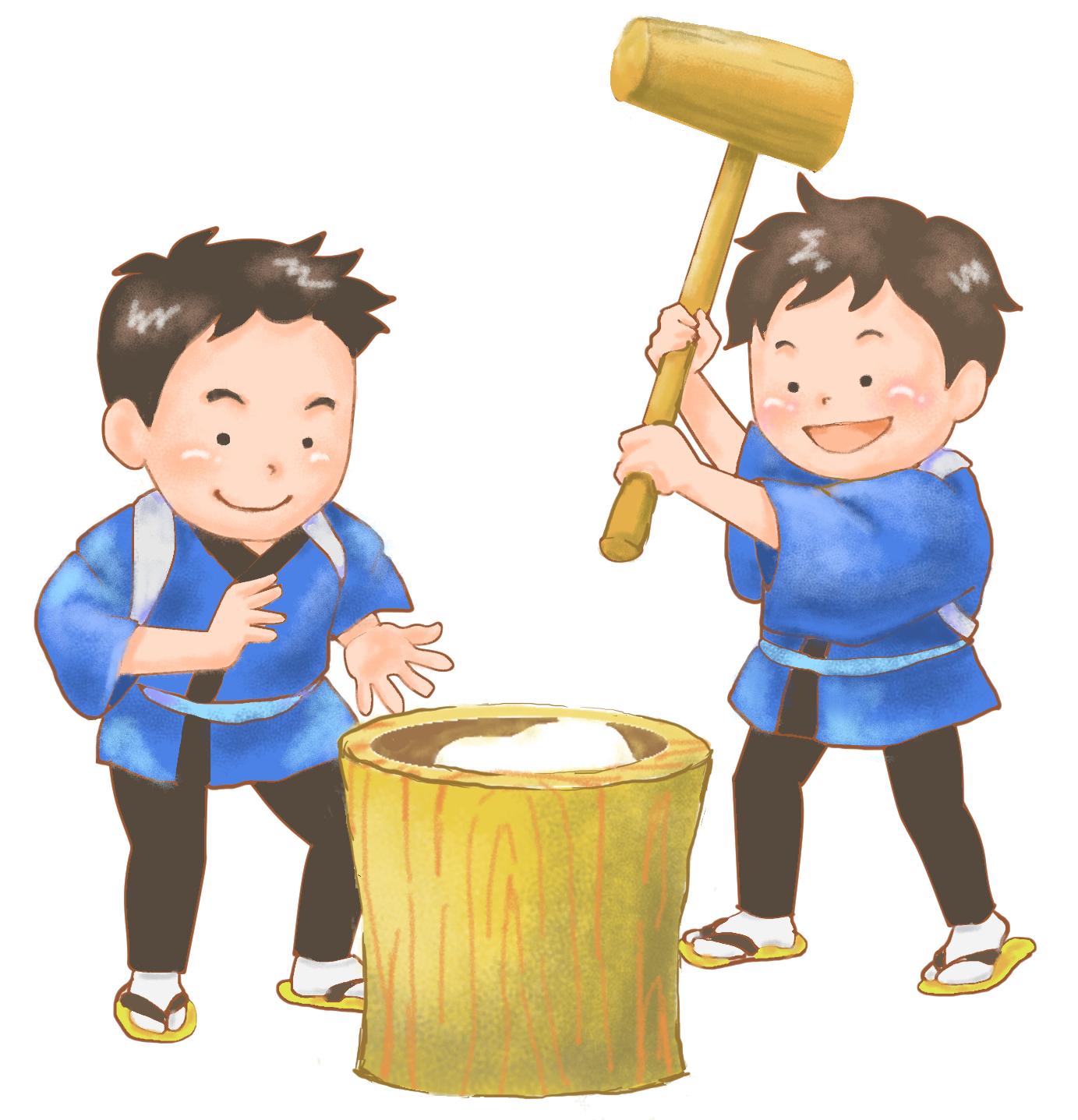 もちつき大会|熊本の注文住宅工務店ファミリアホーム