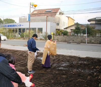 熊本市北区地鎮祭|熊本の注文住宅工務店ファミリアホーム