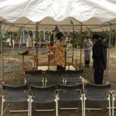 O様地鎮祭1 | 熊本の地元工務店ファミリアホーム