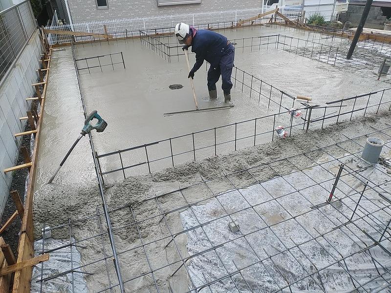 お家づくりの流れ基礎工事4 | 熊本の地元工務店ファミリアホーム