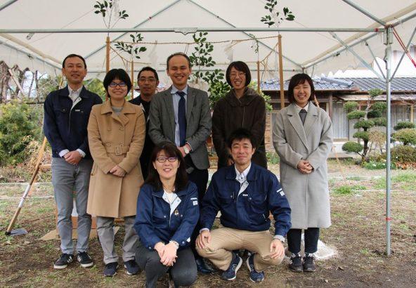 モデルハウス地鎮祭4|熊本の注文住宅工務店ファミリアホーム