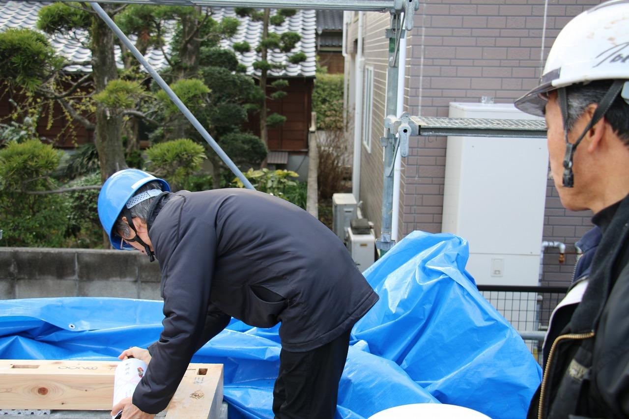 熊本市南区の上棟1 | 熊本の地元工務店ファミリアホーム