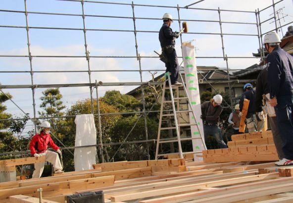 熊本市南区の上棟4 | 熊本の地元工務店ファミリアホーム