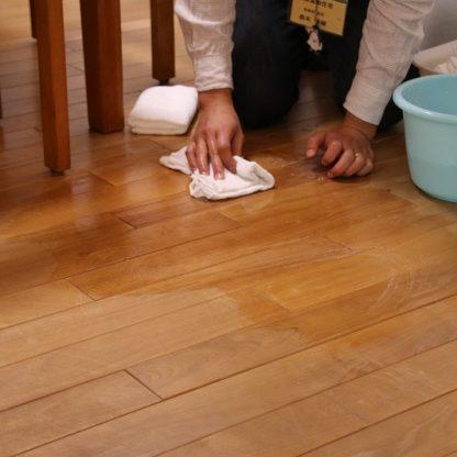 無垢床のお手入れ2|熊本の注文住宅工務店ファミリアホーム