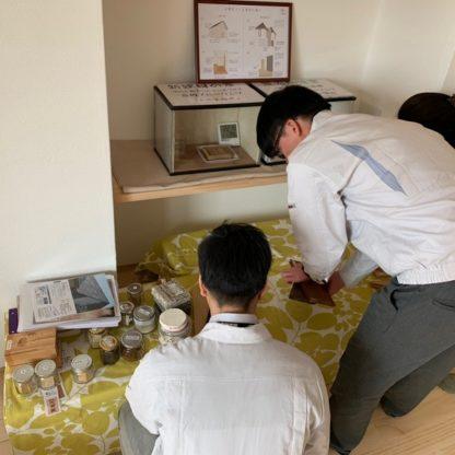 見学会準備1|熊本の注文住宅工務店ファミリアホーム