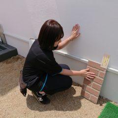 漆喰遮熱効果1|熊本の注文住宅工務店ファミリアホーム