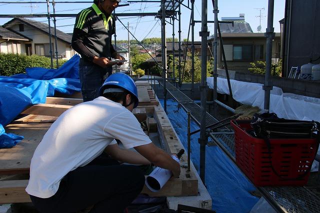 合志市須屋 上棟2|熊本の注文住宅工務店ファミリアホーム