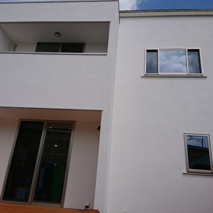 漆喰外壁1|熊本の注文住宅工務店ファミリアホーム