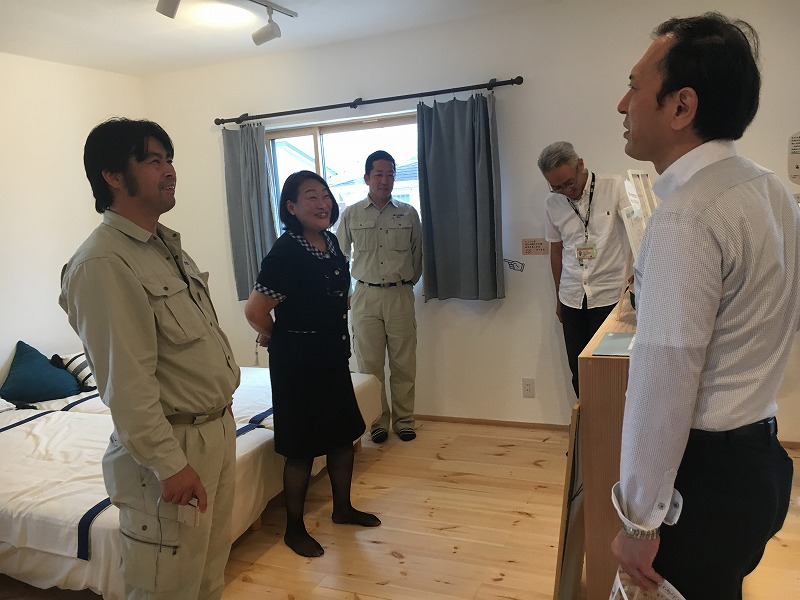 代理店見学会② 熊本の注文住宅工務店ファミリアホーム