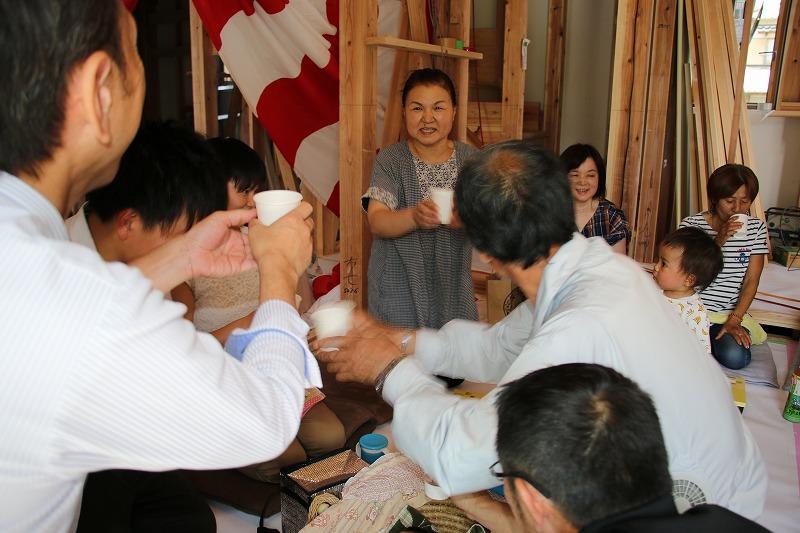 N様邸上棟式3|熊本の注文住宅工務店ファミリアホーム