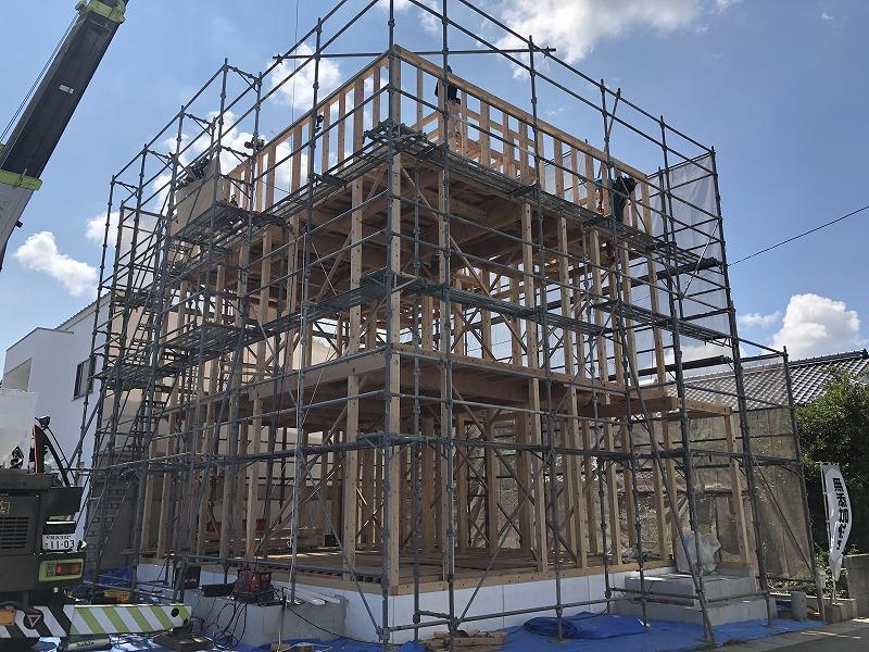 建築現場見学会⑤|熊本の注文住宅工務店ファミリアホーム