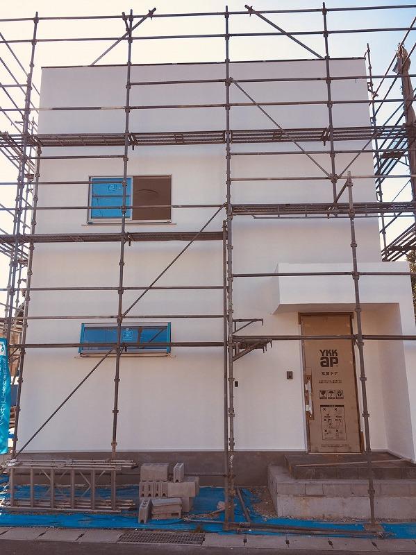 家づくりの流れ・建物完成間近!1|熊本の注文住宅工務店ファミリアホーム