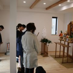 T様邸の家祓い、お引渡し!1|熊本の注文住宅工務店ファミリアホーム