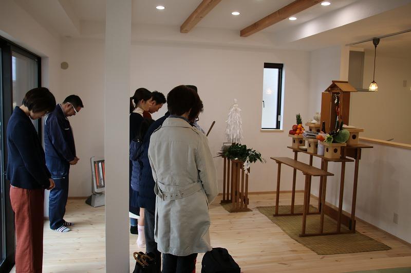 T様邸の家祓い、お引渡し!1 熊本の注文住宅工務店ファミリアホーム