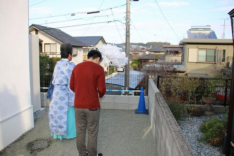 T様邸の家祓い、お引渡し!2|熊本の注文住宅工務店ファミリアホーム